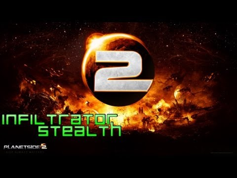Planetside 2 - Infiltrator Stealth