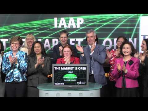 IAAP opens Toronto Stock Exchange, April 20, 2015