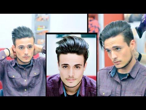 Mens Hair: Modern Slick Back Faded Undercut | Haircut and Style