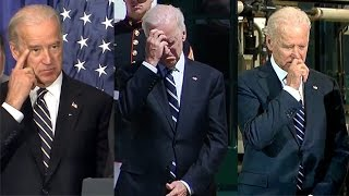 The Vice President Has an Itchy Face