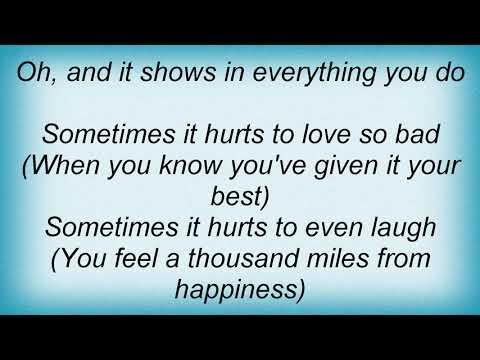 Aretha Franklin - It Hurts Like Hell Lyrics