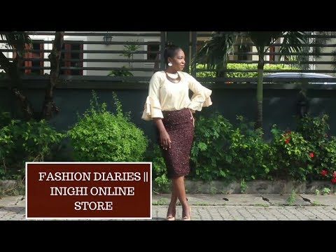 Fashion Diaries || Inighi Online Store Feature