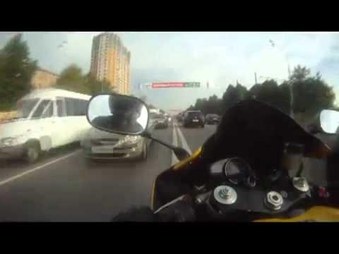 7 минут из жизни мотоциклиста, или гонки по Варшавке