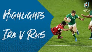 Highlights: Ireland v Russia - Rugby World Cup 2019