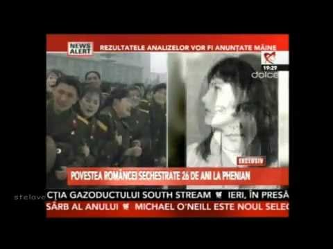 A Romanian woman kidnapped by North Koreans.DOINA BUMBEA