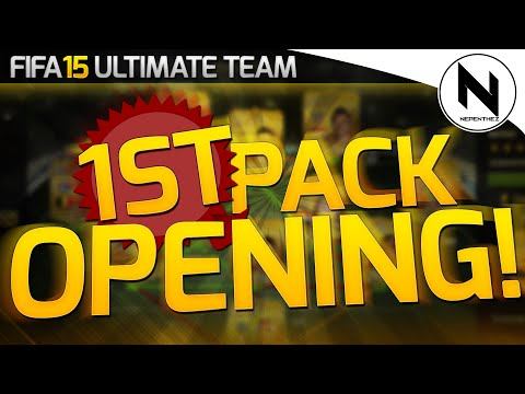 FIFA 15 ULTIMATE TEAM MY FIRST PACKS