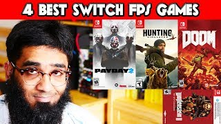🔻Top 4 Nintendo Switch FPS Games Up To 2018!🔺