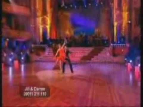 The showdances from the last four winners of Strictly: Jill Halfpenny, Darren Gough, Mark Ramprakash and Alesha Dixon.