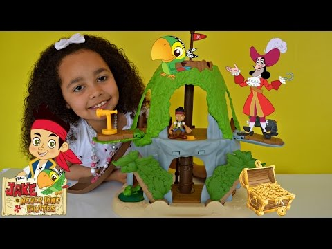 Jake And The Neverland Pirates Magical Tiki Hideout Review And Play    Toys AndMe