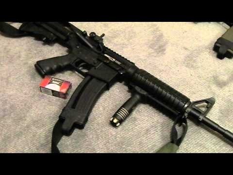 .22LR Semi Auto Rifle Home Defender