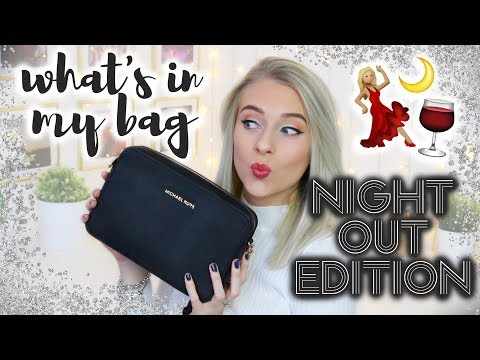 What's In My Bag - NIGHT OUT EDITION! 💃🏼✨