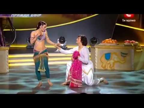 SYTYCD 2012 Ukraine - Indian disco. Aneela - Mani mani mane