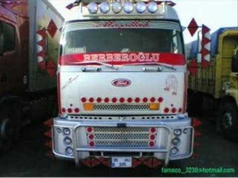 modifiye kamyonlar