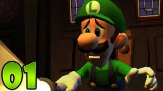 Luigi's Mansion: Dark Moon - Part 1 - Gloomy Manor: A-1 Poltergust 5000