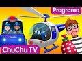 ChuChu TV Ovos Surpresa Da Polícia Episódio 04 A Perseguição De Helicóptero ChuChu TV mp3