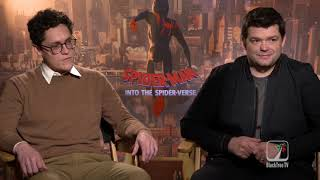 Phil Lord and Chris Miller Spider-Man Into The Spiderverse Interview