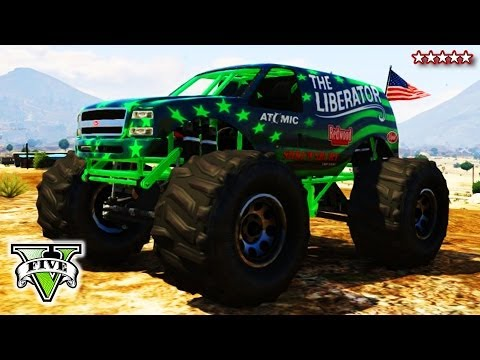 GTA 5 LIBERATING Mount Chiliad | Epic GTA Monster Truck Climb | Grand Theft Auto V