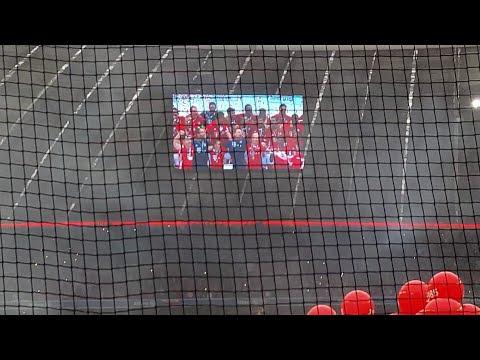 FC Bayern Meisterfeier 2015/16 im Stadion + Spielerpräsentation