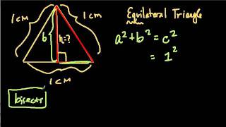 Pythagorean Theorem and Equilateral Triangles