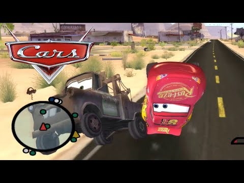 Disney Pixars Cars Movie Game Crash Mcqueen 68 Mater The Launch Pad