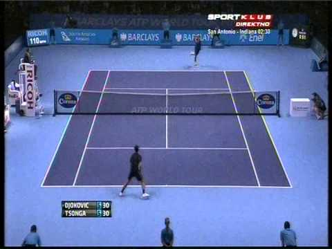 Novak Djokovic vs Jo-Wilfried Tsonga - ATP Masters Cup London 2012. Highlights (bojan svitac)