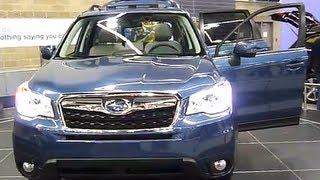 2014 Subaru Forester SUV - Portland Auto Show 2013