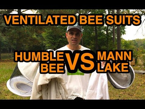 VENTILATED BEE SUITS: Humble Bee VS. Mann Lake