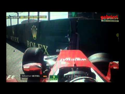 Gp F1 Russia Sochi 2016 - Incidente Vettel Telecronaca Audio Sky Sport F1