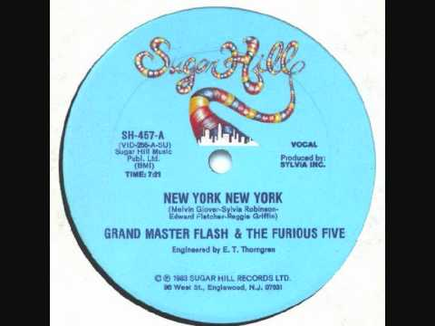 Grandmaster Flash - New York New York