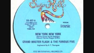 Watch Grandmaster Flash New York New York video