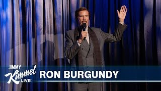 EXCLUSIVE Ron Burgundy Stand Up Comedy