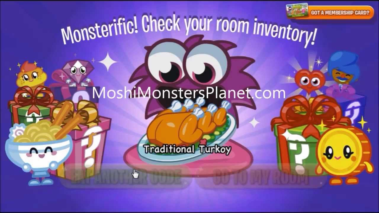 How To Get Free Membership On Moshi Monster Without Paying ...