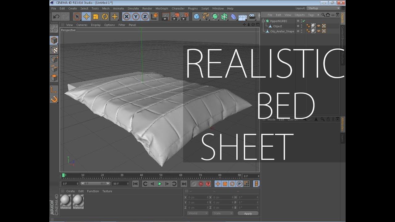 Bed Sheet Tutorial