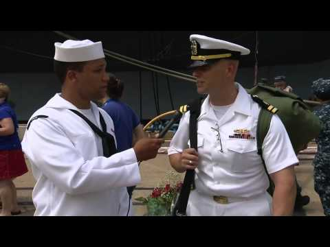 USS Dwight D. Eisenhower Carrier Strike Group Homecoming -- Part 2