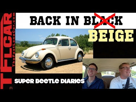 The VW Beetle is Back! Next Generation Discovers Air COOLness - Beetle Diaries  Ep.1