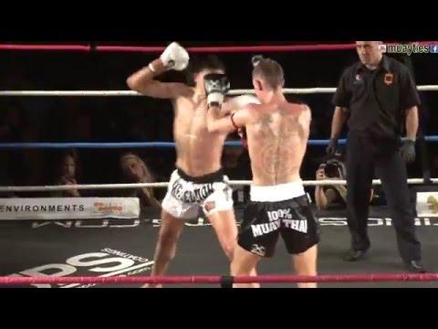 Muay Thai Fight - Lund Vs Deatta, Rebellion Muay Thai, Melbourne- 28th November 2015