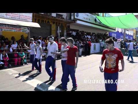 Desfile 5 de febrero en Zitácuaro - 2014