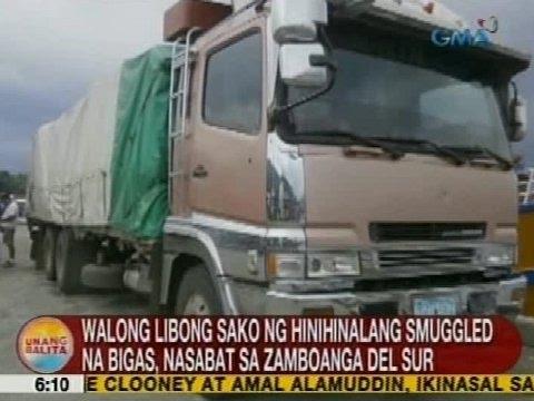 Ub: 8k Sako Ng Hinihinalang Smuggled Na Bigas, Nasabat Sa Zamboanga Del Sur video