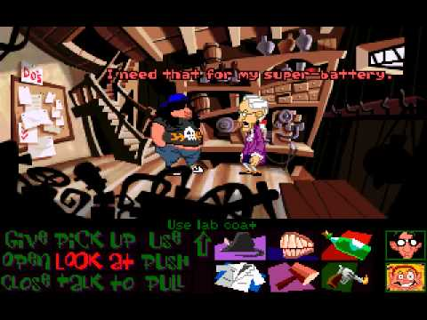 Maniac Mansion: Day of the Tentacle playthrough