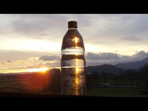 Sun-Charged Water = My favorite Energy Drink