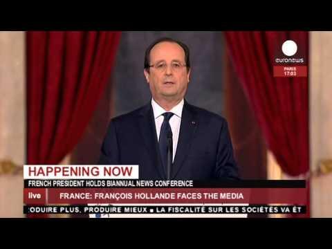 Conférence de presse de François Hollande le 14 janvier 2014 - DIRECT enregistré