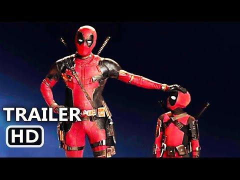 "DEADPOOL 2 ""Mini Deadpool"" IMAX Trailer (NEW 2018) Action Movie HD"