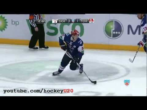 Vladimir Tarasenko hat-trick vs Torpedo 26 Jan 2012
