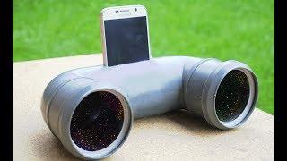 DIY BIG BASS  speaker for phone !