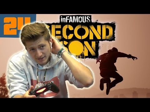 InFamous Second Son Let´s Play #024 Soo viele Scherben so viele Updates GERMAN