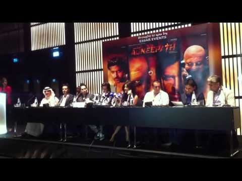 Agneepath Press Conference in Dubai
