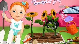 Sweet Baby Girl Clean Up 2 TutoTOONS Kids Games Android İos Free Game GAMEPLAY VİDEO
