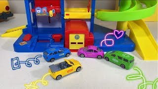 Auto Parking Garage Toy Car Vehicles Playset For Kids