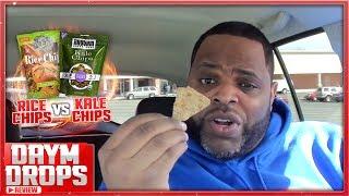 Kale Chips vs Rice Chips