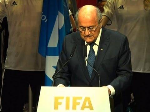 Blatter: 'Shame' Bought To FIFA